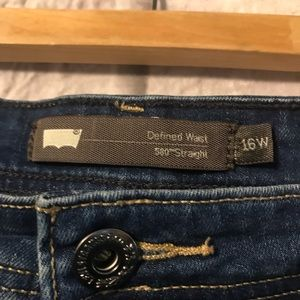 Levi's Jeans - Levi's Defined Waist 580 Straight Jeans